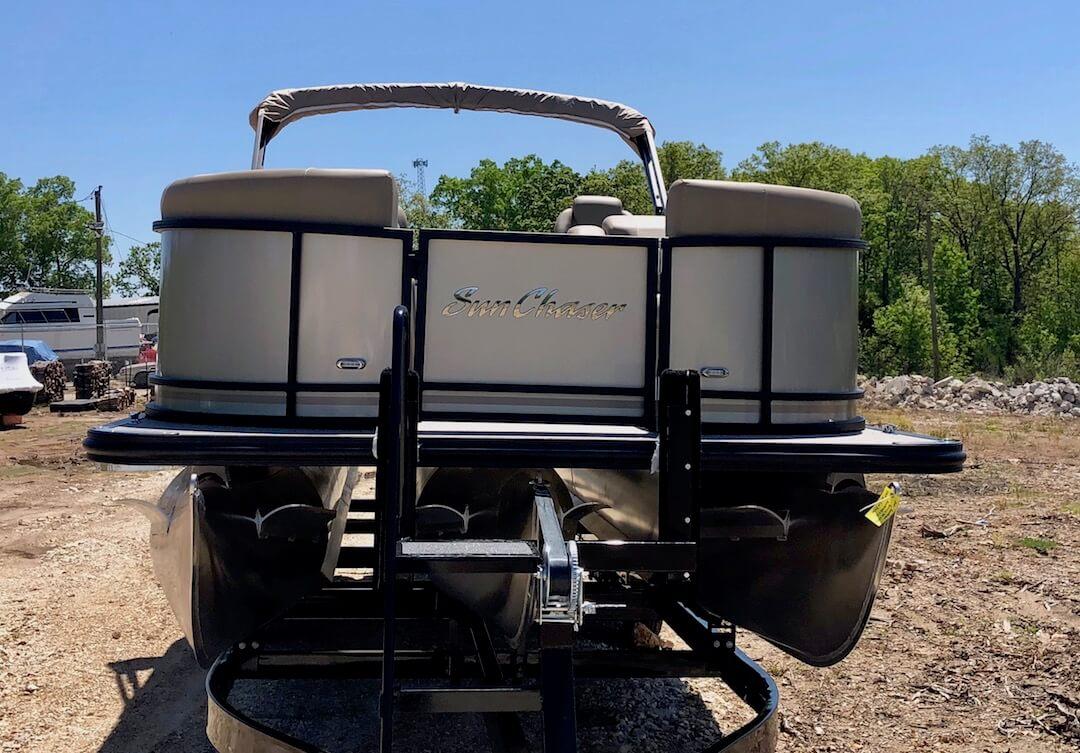 SunChaser Geneva 24 LR DH w/ 150 HP Mercury Four Stroke Outboard SOLD 28