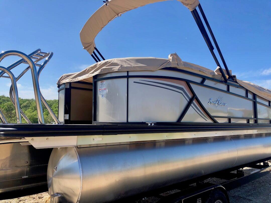 SunChaser Geneva 24 LR DH w/ 150 HP Mercury Four Stroke Outboard SOLD 1